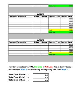 stock market portfolio tracking spreadsheet by need2learn mathematics