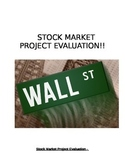 Stock Market Project evaluation