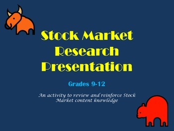 Stock Market Research Presentation