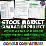 Stock Market Simulation Project