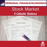 Stock Market -5 Stations Lesson