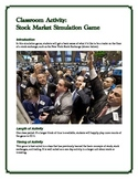 Stock Market Trading Simulation Game