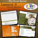 Stock Market Unit Lesson 3 - Stock Market Vocabulary