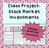 Stock Market and Statistics Class Project