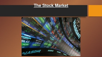 Stock Market powerpoint Civics