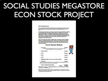 Stock Market Project ECONOMICS