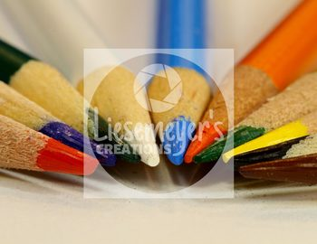 Stock Photo 10 - Colored Pencils - Commercial Use for Teacherpreneurs