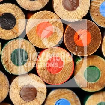 Stock Photo 28 - Colored Pencils - Commercial Use for Teacherpreneurs