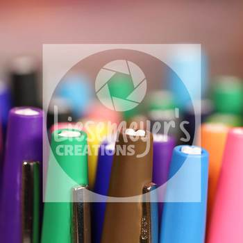 Stock Photo 33 - Flair Pens - Commercial Use for Teacherpreneurs