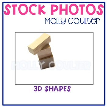 Stock Photo: 3D Shapes -Personal & Commercial Use