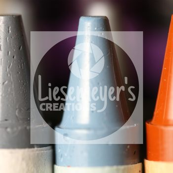 Stock Photo 8 - Crayons - Commercial Use for Teacherpreneurs