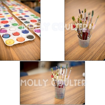 Stock Photo: Art Supplies BUNDLE- Personal & Commercial Use