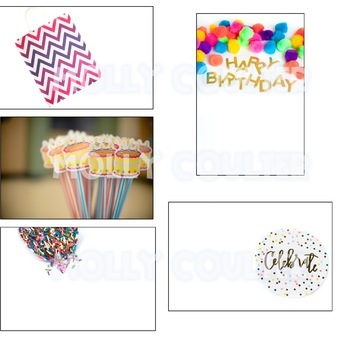 Stock Photo: Birthday BUNDLE- Personal & Commercial Use