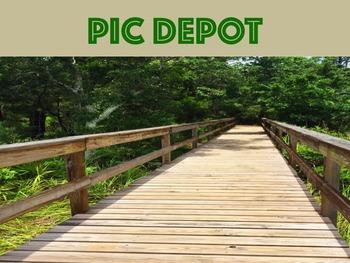 Stock Photo Boardwalk Pathway