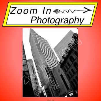 Stock Photo: Boston Theater District Paramount