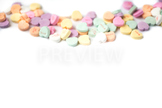 Stock Photo: Valentine Candy Hearts 2 -Personal & Commercial Use