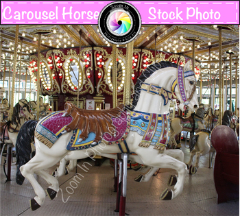 Stock Photo: Carousel Horse (b)