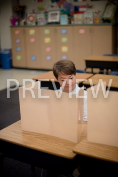 Stock Photo: Cheating Student-Personal & Commercial Use