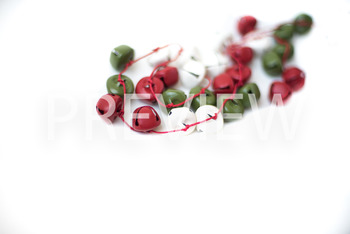 Stock Photo: Christmas Jingle Bell Garland #2 -Personal &