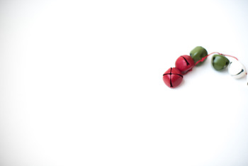 Stock Photo: Christmas Jingle Bell Garland #3 -Personal & Commercial Use