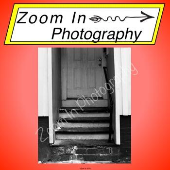 Stock Photo: City Door