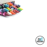 Stock Photo: Color crayons #1