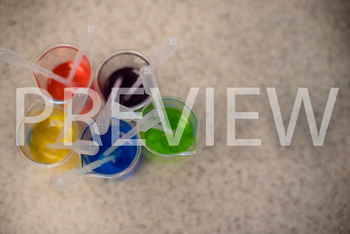 Stock Photo: Colored Beakers #2 (Science lab) -Personal &