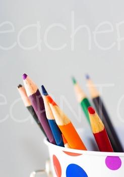 Stock Photo - Colored Pencils #1