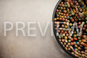 Stock Photo: Colored Pencils-Personal & Commercial Use