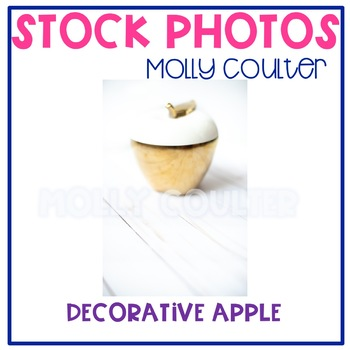 Stock Photo: Decorative Apple -Personal & Commercial Use