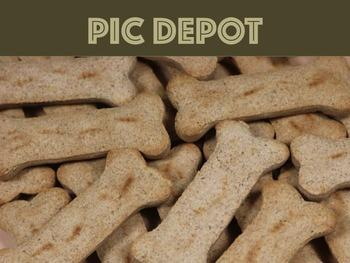 Stock Photo Dog Treats