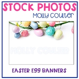 Stock Photo: Easter Egg Banners- Personal & Commercial Use