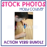 BUNDLE Stock Photo: Action Verbs-Personal & Commercial Use