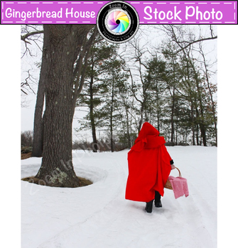 Stock Photo: Fairy Tale Red Riding Hood