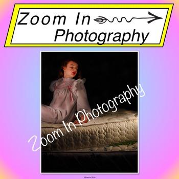 Stock Photo: Fairy Tale The Princess and the Pea (b)