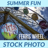 Stock Photo - Ferris Wheel - Photograph - Carnival - County Fair