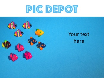 Stock Photo School Of Fish Erasers