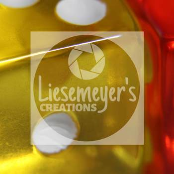 Stock Photo Free #2 - Yellow & Red Dice - Commercial Use for Teacherpreneurs