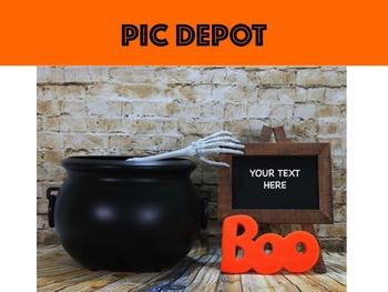 Halloween Stock Photo Text Box