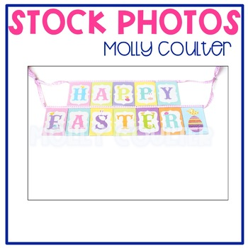 Stock Photo: Happy Easter -Personal & Commercial Use
