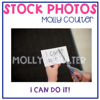 Stock Photo: I Can Do It -Personal & Commercial Use