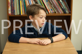 Stock Photo: Jealous Student or Child-Personal & Commercial Use