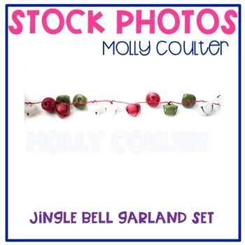 Stock Photo: Jingle Bell Christmas Garlands -Personal & Commercial Use