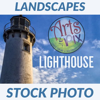 Stock Photo - Lighthouse  - Photograph - Arts & Pix