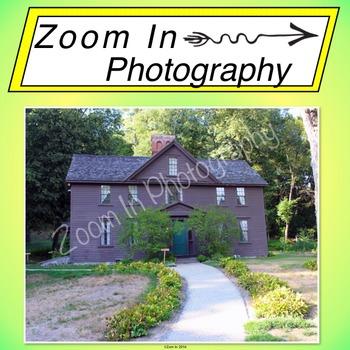 Stock Photo: Louisa May Alcott's House (a)