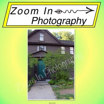 Stock Photo: Louisa May Alcott's House (b)