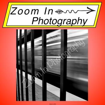 Stock Photo: MBTA Subway Train