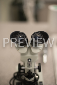 Stock Photo: Microscope Eyepiece Lens-Personal & Commercial Use