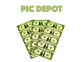 Stock Photo Money Dollar Bills