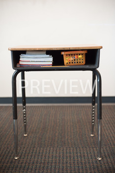 Stock Photo: Organized Desk-Personal & Commercial Use